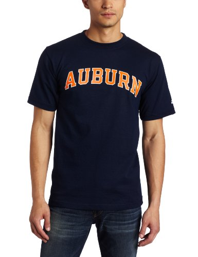 NCAA Men's Auburn Tigers Relentless Tee Shirt (Navy, XX Large) at Amazon.com
