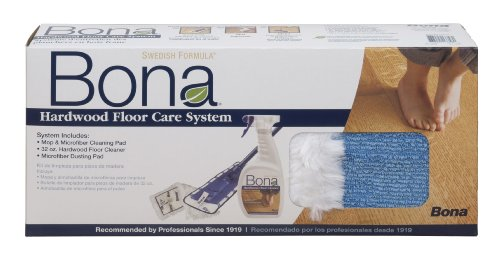 BonaKemi WM710013358 4-Piece Hardwood Floor-Care System