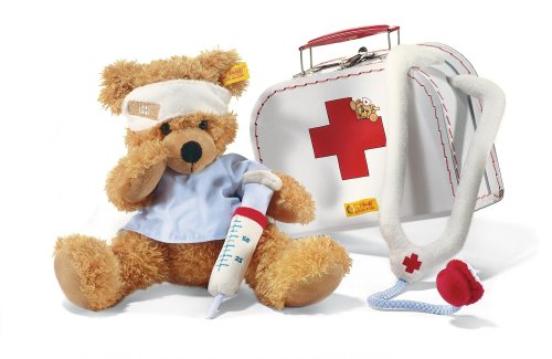 11'' 'Doctor' Fynn Teddy Bear in Doctor Suitcase
