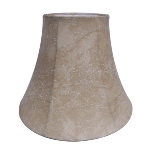 Normande Lighting KS-712 Faux Leather Bell Shade, Small