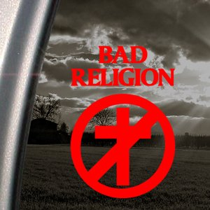 Bad Religion Red Decal Car Truck Bumper Window Red Sticker