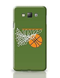 PosterGuy Basketball in the Net Illustration Minimal Art Samsung Galaxy A7 Covers