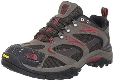 The North Face Mens 'Hedgehog GTX XCR III' Hiking Shoe, Brown/Red, US 12.5