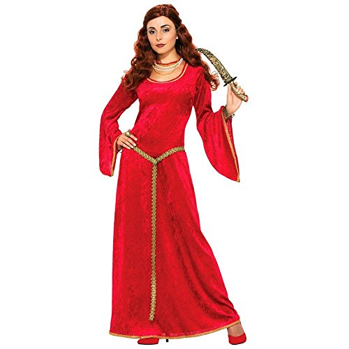 Ruby Medieval Sorceress Adult Costume - Standard