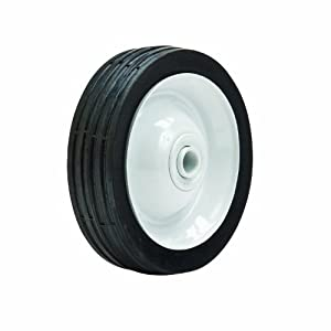 Oregon 72-301 Anti-Scalp Deck Wheel 5-Inch by 1.25-Inch Rib Tread