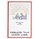 Careless talk cost lives (V&A Custom Print)