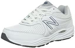 New Balance Men\'s MW840 Health Walking Shoe,White,12.5 4E US