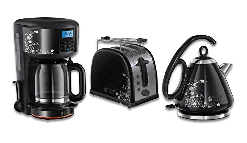 russell hobbs fr hst ck set 3 tlg kaffeemaschine wasserkocher toaster legacy floral serie. Black Bedroom Furniture Sets. Home Design Ideas