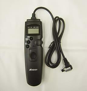 [T2 タイマーリモートコントローラー]Canon TC-80N3 互換 タイマー機能付 EOS 6D 7D 60Da 5D Mark Ⅲ 等 対応