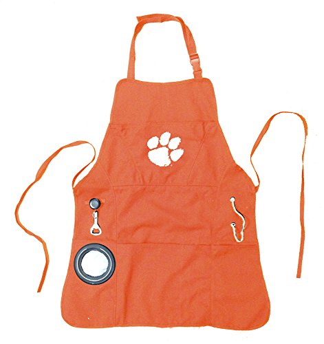 Ncaa Men'S Grilling Apron - Clemson University