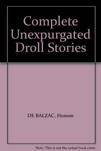 Complete Unexpurgated Droll Stories PDF