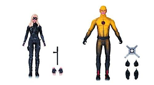 Super Hero Arrow TV: Black Canary VsThe Flash TV: Reverse-Flash Action Figure