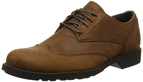 Timberland Fitchburg Wing Oxford, Scarpe Low-Top Uomo, Marrone (Medium Brown), 44 1/2 EU