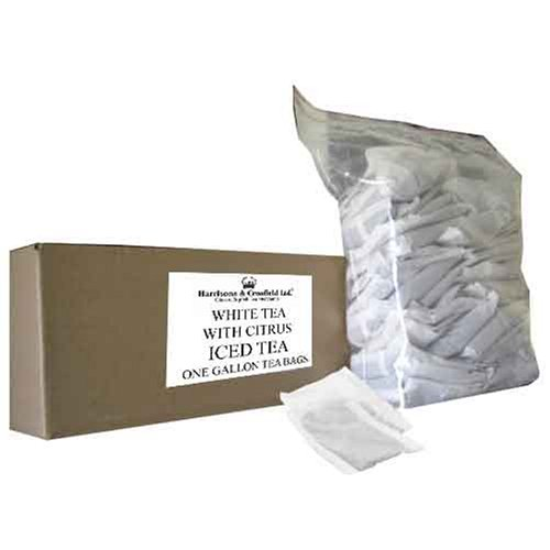 Buy Harrisons & Crosfield Foodservice, White With Citrus Iced Tea Bags, 50-Count, 1.27 Ounce Unit (Harrisons & Crosfield, Health & Personal Care, Products, Food & Snacks, Beverages, Tea, White Teas)