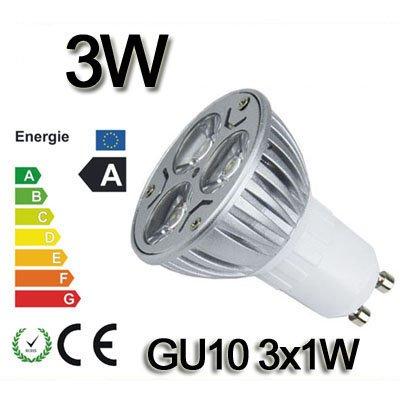 *Himanjie*3W 4W 6W 8W 9W LED SPOT LAMPE Strahler Licht warmweiß GU10 3X1W 4X1W 3X2W 4X2W 3X3W SMD 12V Energiesparlampe Warmlicht nicht dimmbar (3 Watt)