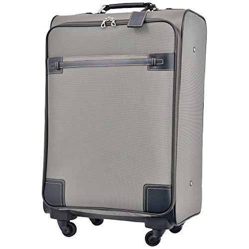 キャリーケース ピジョール サジェスTR スーツケース TSA南京錠 PUJOLS ソフトタイプ 4輪 45L 2日 3日用 55cm 51278 (カーキ)