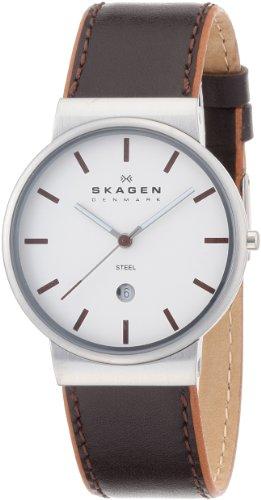 [スカーゲン]SKAGEN 腕時計 basic leather mens 351XLSL ケース幅: 36mm メンズ [正規輸入品]