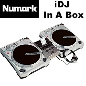 """Numark iDJ In A Box Universal Vinyl DJ System Package for """"i"""" Device New"""