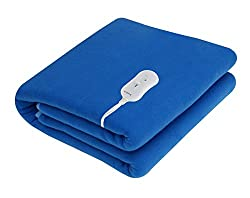 Pindia Single Bed Heating Electric Blanket - Blue