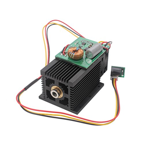 SUNWIN High Power 6W 6000mW Blue Violet Light Laser Module 450nm For DIY Engraver Print (2W) (Laser Modules 2w compare prices)