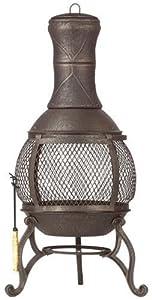 deckmate corona outdoor chimenea fireplace
