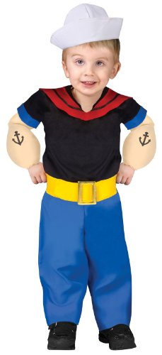 Popeye Toddler Costume Toddler (Toddler (24 Mos.-2T))