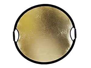 Sunbouncer Sun-Mover Zebra gold/silber - Rückseite weiß (nahtlos)
