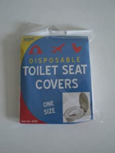 10PC DISPOSABLE TOILET SEAT COVERS Kitchen Home