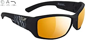 Buy Julbo Zebra Whoops 4003122 BLACK + WALLPAPER Cat. 2-4 Performance Sunglasses by Julbo