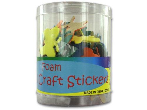 Foam Animal Stickers - Case of 40