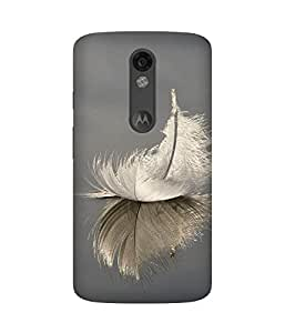 Feather Upside Down Motorola Moto X Force Case