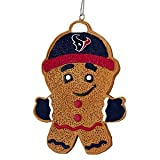 2013 NFL Football Resin Hanging Gingerbread Man Ornament (Houston Texans) at Amazon.com