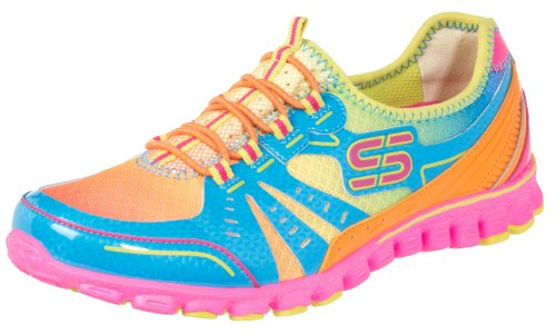 Skechers To−The−Max Womens Running Shoes MULTI 7 M Wmns