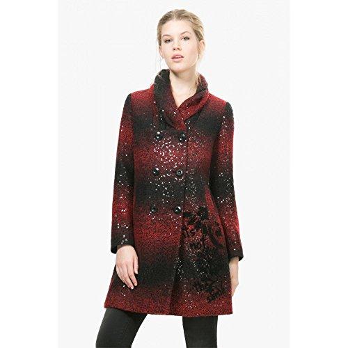 Desigual -  Cappotto  - Donna rosso 42
