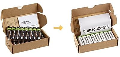 AmazonBasics Vorgeladene Ni-MH-Akkus
