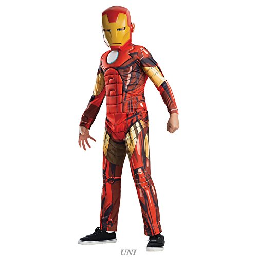 Rubie's Costume Co Deluxe Iron Man Costume Toddler Costume