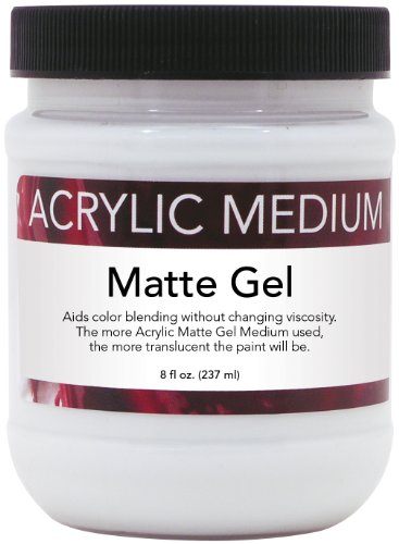 art-advantage-8-ounce-acrylic-matte-gel-medium