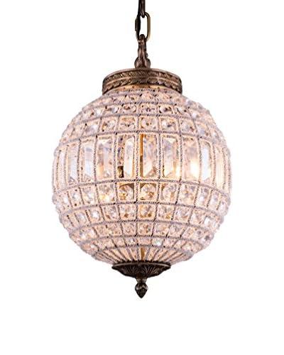 Urban Lights Olivia 4-Light 18.5 Floor Lamp, French Gold/Royal Cut Crystal