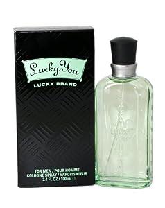 Lucky You By Lucky Brand For Men. Cologne Spray 3.4 Oz.