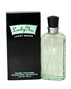 Lucky You By Lucky Brand For Men. Cologne Spray 3.4 Oz.