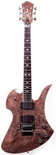 B.C. Rich Pro X Pxmgbkb Pro X Mockinbird Electric Guitar, Black Burl