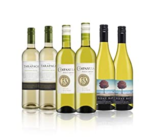 Customer Favourites White Mix 75cl (Mixed case of 6)