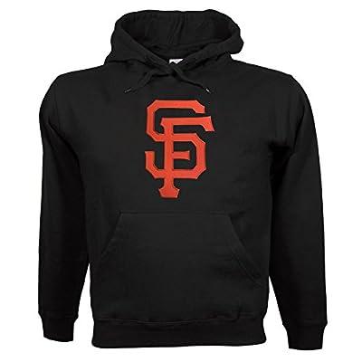 San Francisco Giants Twill Logo Hoody (Black)