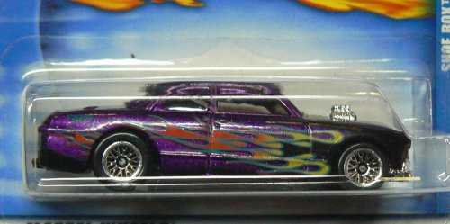 Hot Wheels Shoe Box with Flames and Lace Wheels No Collector Number