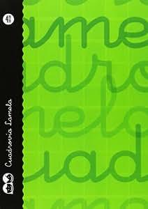 Lamela 7CTE004V - Cuaderno con espiral, 4 mm, color verde