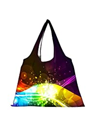 Snoogg High Strength Reusable Shopping Bag Fashion Style Grocery Tote Bag Jhola Bag - B01B973RXE