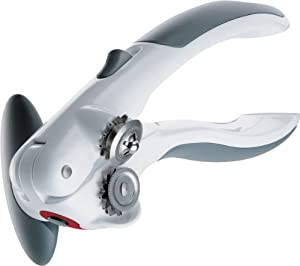 Zyliss Lock N' Lift Can Opener, White