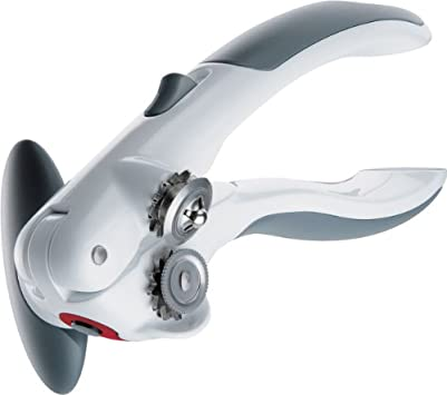 Zyliss 20362 Lock-n-Lift Manual Can Opener, White