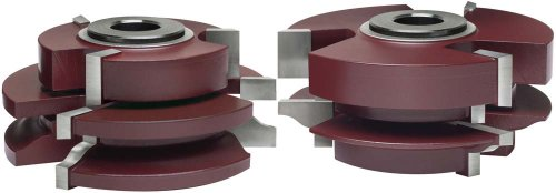 MLCS 11008 Katana Ogee Matched Rail and Stile Shaper Cutter, 2-Piece Set