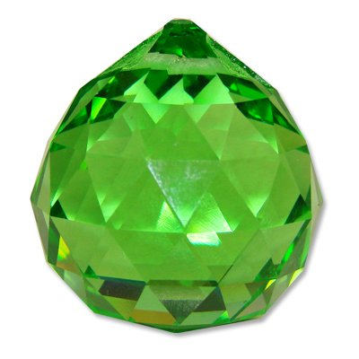 40mm Green Crystal Ball Prisms #1701-40
